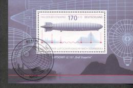 Bund Block 69 Historischer Luftschiffverkehr LZ 127 Graf Zeppelin Tag Der Briefmarke Gestempelt (Berlin)  Used - [7] West-Duitsland