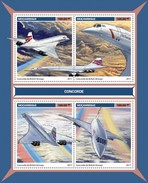 Mozambique - Postfris / MNH - Sheet Concorde 2017 - Mozambique