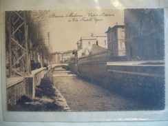 1929   BRESCIA  VIA  FRATELLI  UGONI  ANIMATA - Brescia