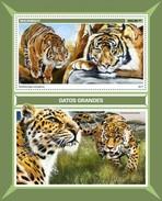 Mozambique - Postfris / MNH - Sheet Grote Katachtigen 2017 - Mozambique