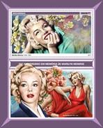 Mozambique - Postfris / MNH - Sheet Marilyn Monroe 2017 - Mozambique
