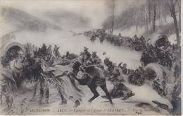 POSTCARD FRANCE - SALON DE 1909 - Arus -   Épilogue De L´Armée De L´Est 1871 - Vers La Suisse - Paintings