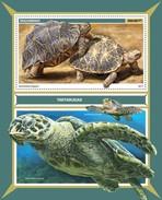 Mozambique - Postfris / MNH - Sheet Schildpadden 2017 - Mozambique