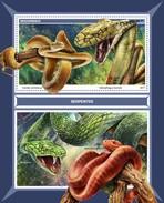 Mozambique - Postfris / MNH - Sheet Slangen 2017 - Mozambique