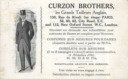PARIS - Cruzon Brothers, 130 Rue De Rivoli (carte Vendue En L'état) - Publicité