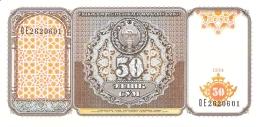 OUZBEKISTAN   50 Sum   1994   P. 78a   UNC - Uzbekistan