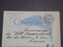 BRÉSIL - Entier Postal De Rio Pour Paris En 1907 - L 7015 - Entiers Postaux