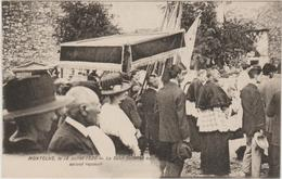 MONTCLUS (30) - LE 18 JUILLET 1920 - LE SALUT SOLENNEL AU SECOND REPOSOIR - Autres Communes