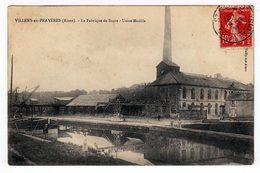 Villers En Prayères.(Aisne). La Fabrique De Sucre. Usine Modèle. (1385) - France