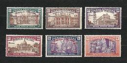 SOMALIA 1925 - Anno Santo - MH - Sa: IT SO 61-66 - Somalia