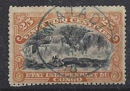 Belgian Congo 1894 (o) 25c - Belgian Congo