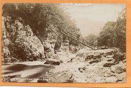 Betws-y-Coed 1910 Real Photo Postcard - Pays De Galles