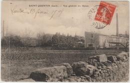 SAINT QUENTIN (30) - VUE GENERALE DES USINES - Autres Communes