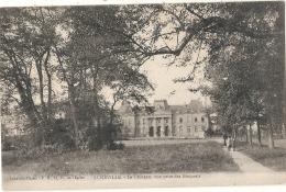 ---54----- LUNEVILLE  Le Château Vue Prise Des Bosquets - Neuve TTBE - Luneville