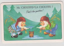 SOUS BOCK Mc CHOUFFE LA CHOUFFE BRASSERIE D'ACHOUFFE 14/15 AOUT GRANDE FETE. ILLUS C.M....... - Sous-bocks