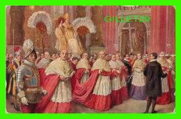 RELIGIONS - IL PONTEFICE PIO XI IN SEDIA GESTATORIA NELLA BASILICA DI SAN PIETRO - - Papes