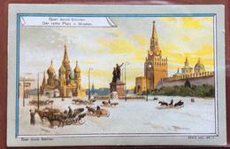 "CHROMO CARTE FIGURINE PUBBLICITARIE ADVERTISING    MOSCA RUSSIA SIBERIA      ""JODELLA"" LAHUSENS - Cromo"