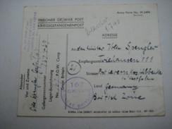 1946, Ca., POW Camp Shady Lane, Postcard - 1902-1951 (Reyes)