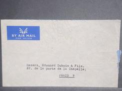 ARABIE SAOUDITE - Enveloppe De Jeddah Pour Paris , Affranchissement Au Verso- L 7042 - Arabie Saoudite