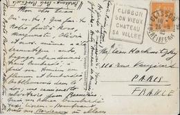 1940 - LOIRE INFERIEURE - CARTE De CLISSON Avec DAGUIN  => PARIS - Marcophilie (Lettres)