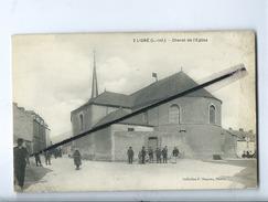 CPA  Abîmée - Ligné (L.-Inf.) - Chevet De L'église - Ligné
