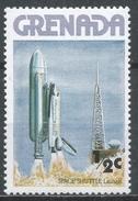 Grenada 1978. Scott #842 (MNH) Launching Of Space Shuttle * - Grenade (1974-...)
