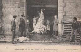 75 - ABATTOIRS DE LA VILETTE - Un Echaudoir De Boeufs. - Non Classés