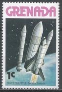 Grenada 1978. Scott #843 (MNH) Booster Separation * - Grenade (1974-...)