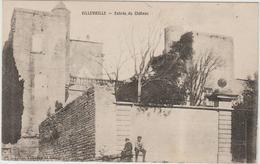 VILLEVIEILLE (30) - ENTREE DU CHATEAU - Autres Communes