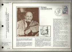 N° : 507 S DU CATALOGUE CEF.N° 328 / SOIE . GEORGES COURTELINE . 23 JUIN 1979 . TOURS  . - 1970-1979
