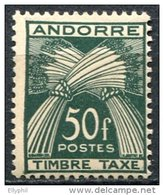 Andorre, Taxe N° 40** Y Et  T
