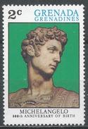 Grenada Grenadines 1975. Scott #69 (MNH) Giuliano De Medici (Sculpture) By Michelangelo * - Grenade (1974-...)