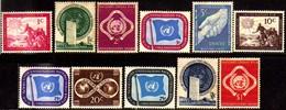 00005 Nações Unidas 1/11 Bandeira Povos Unicef Nn - New York -  VN Hauptquartier