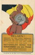 BELGEN ! NATIONALEN BOND TER VERDEDIGING VAN DEN FRANK - Monnaies (représentations)