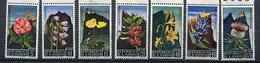 Saint Marin ** N° 687 à 693 - Fleurs Sur Fond Paysage - - Unused Stamps