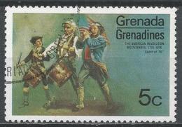 Grenada Grenadines 1975. Scott #95 (U) Spirit Of 76. American Revolution Bicentennial * - Grenade (1974-...)