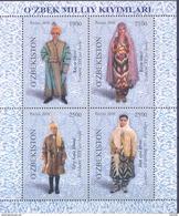 2016.Uzbekistan, National Clothes Of Uzbekistan, S/s,  Mint/** - Ouzbékistan