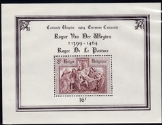 1964, Belgien, 1363 Block 31, 500. Todestag Von Rogier Van Der Weyden. MNH **, - Blocks & Kleinbögen 1962-....