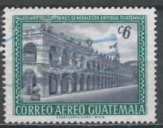 Guatemala 1964. Scott #C278 (U) Captains General Of Antigua, Building * - Guatemala
