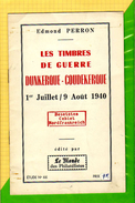 Timbres De Guerre - Dunkerque Coudekerque - Etude N°66 Du Monde Des Philatelistes -Edmond PERRON - Frans