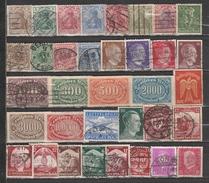 Lot De 35 Timbres D' ALLEMAGNE/ REICH - Stamps