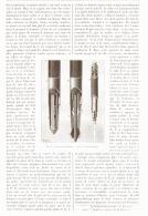 """LA SCIENCE PRATIQUE  """" CRAYON ET CANIF MECANIQUE """"    1890 - Sciences & Technique"""