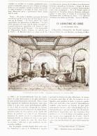 UN LABORATOIRE DE CHIMIE Au XVII Siécle  1890 - Non Classés