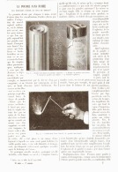 LA POUDRE SANS FUMEE  ( Les Explosifs D'hier Et Ceux De Demain )  1890 - Non Classés