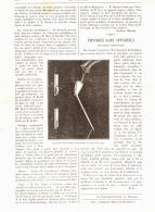 """PHYSIQUE SANS APPAREILS  """" Tourniquet Hydraulique """"    1890 - Sciences & Technique"""