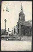 BAILLE Le Calvaire, Le Monument Et L'Eglise ()  Ille & Vilaine (35) - France
