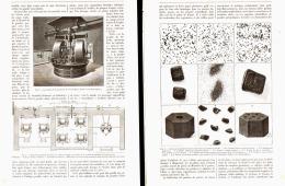 LA POUDRE SANS FUMEE  ( Les Explosifs D'hier Et Ceux De Demain )  1890 (1) - Militaria