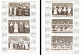 L'ELEVAGE DES ENFANTS ( LES BIBERONS - EMMALLOTEMENT- )  1890