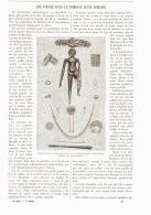 UNE POUPEE DANS LE TOMBEAU D'UNE ROMAINE   1890 - Andere Verzamelingen