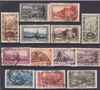Sarre Série N° 107 à 119 (-115+140) Oblitérée- Voir Verso - - Zone Française